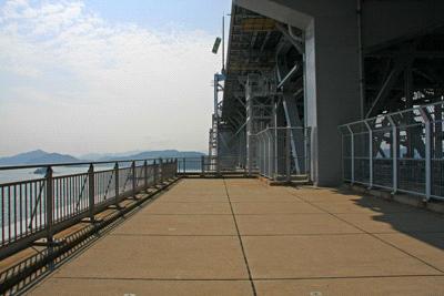 道の駅うずしおからの大鳴門橋