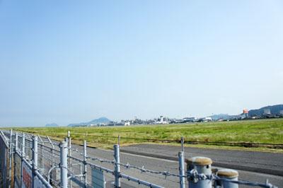 松山空港滑走路