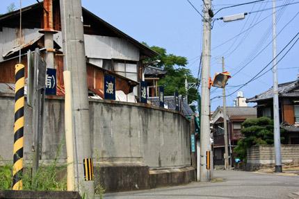三津浜町並み