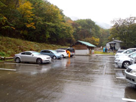 三嶺登山口駐車場