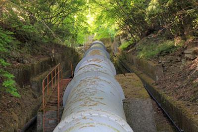 東平発電所導水管