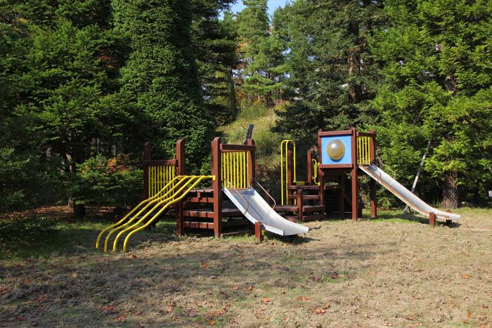 神戸市立森林植物園シアトルの森の遊具