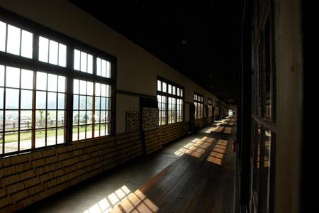 宇和米博物館の廊下