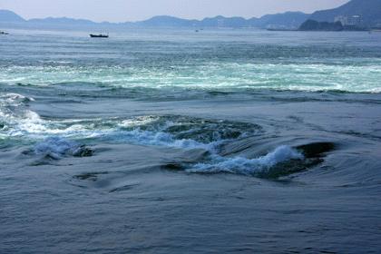 鳴門の潮流