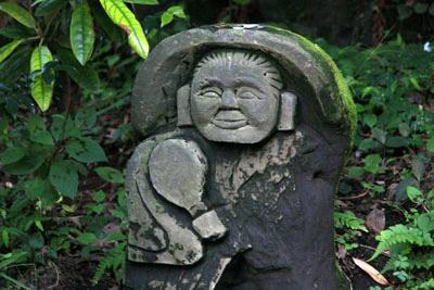 黒川温泉田の神様