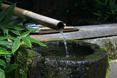 黒川温泉湧水