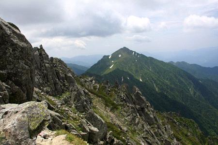 木曽駒ヶ岳横手コース
