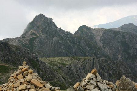 木曽駒ヶ岳からの宝剣岳