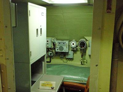 潜水艦館長室