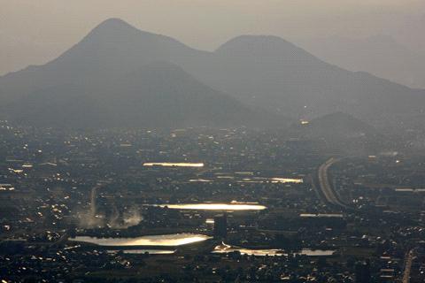 飯野山からの展望