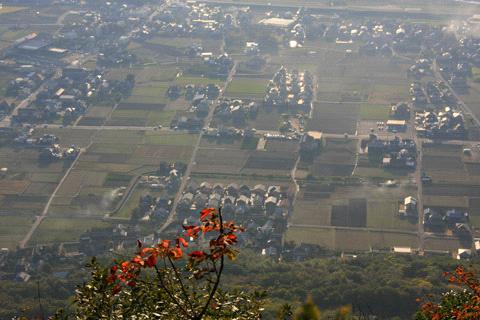 讃岐富士からの眺め