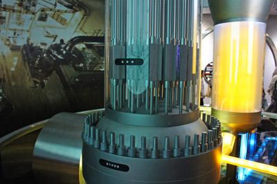 伊方ビジターズハウス原子炉展示