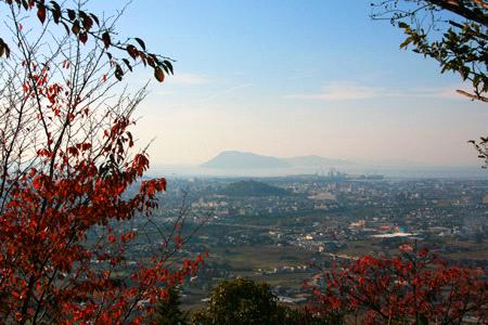 飯野山からの讃岐平野