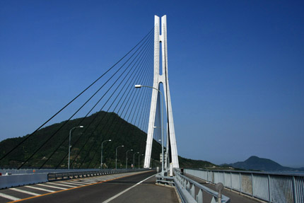 多々羅大橋サイクリング