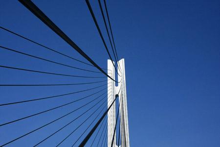 多々羅大橋主塔