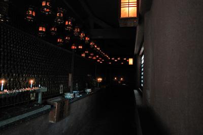 根香寺回廊