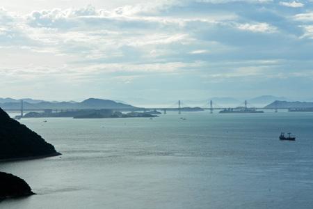 五色台からの瀬戸大橋