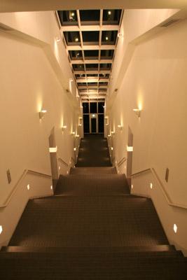 足摺テルメ夜の階段