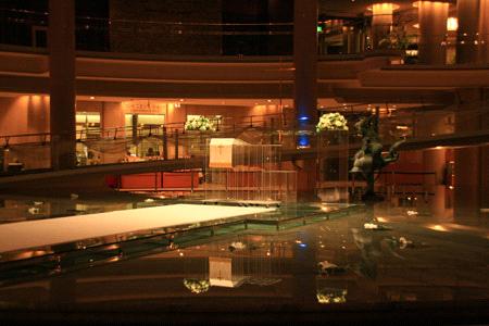 グランドプリンスホテル広島ロビー