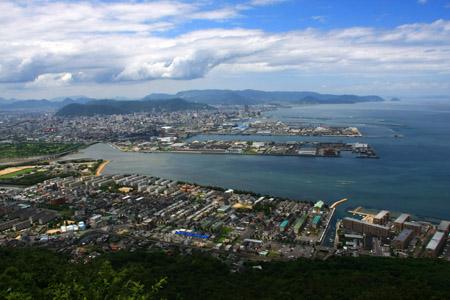 屋島寺からの展望