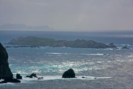 ウェザーステーション展望台からの南島