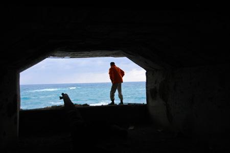 コペペ海岸の戦跡