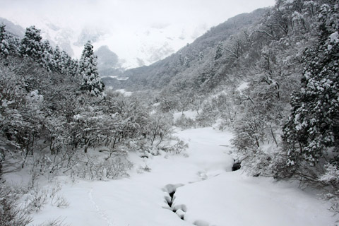冬の賽の河原