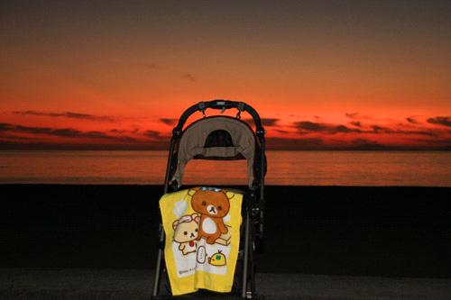 五色姫海浜公園のマジックアワー