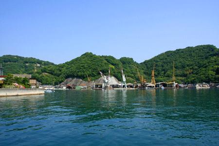 大崎上島木江港造船所