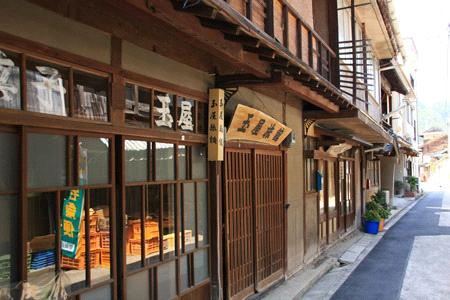 木江の古い町並み