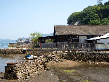 大崎上島の町並み