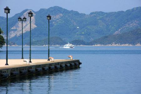 大三島宮浦港