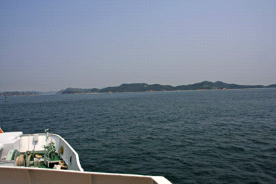 直島への航海