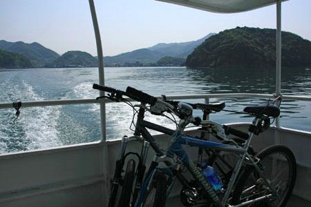 しまなみ海道自転車乗船