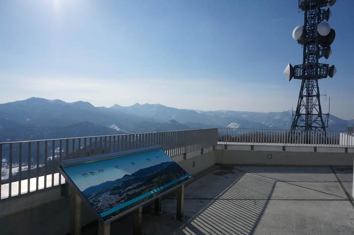 藻岩山山頂展望台