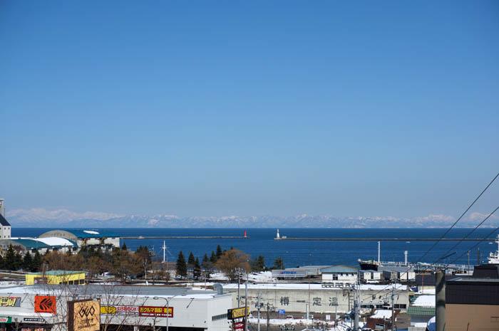 赤坂からの小樽の海
