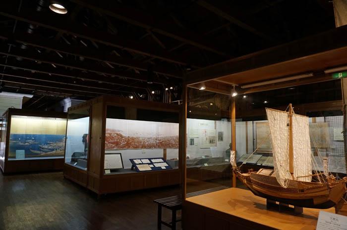 小樽運河館第一展示室