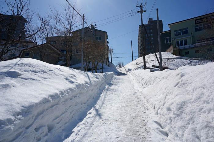 冬の小樽赤坂