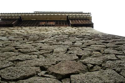 松山城石垣