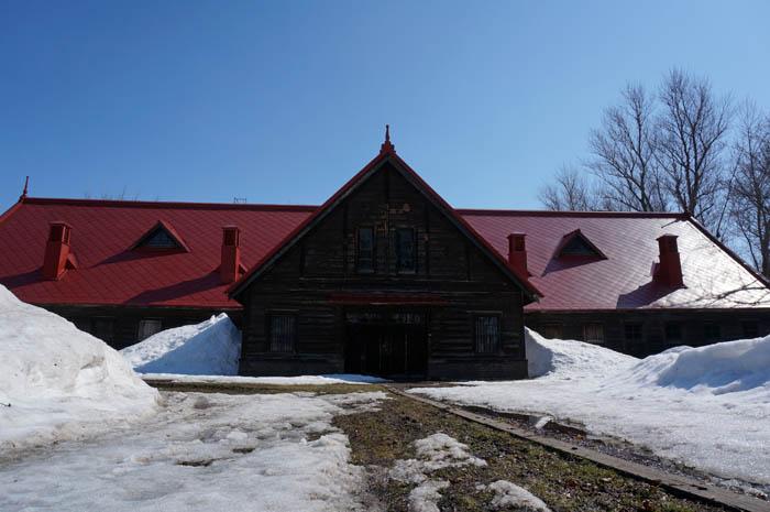 札幌農学校第二農場牧牛舎