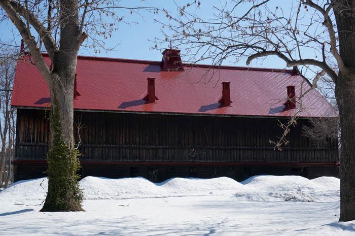 冬の模範家畜房