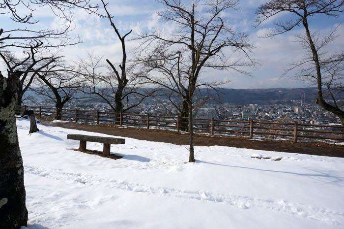 羊山公園見晴らしの丘