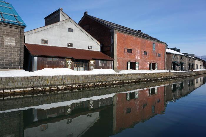 3月の小樽運河