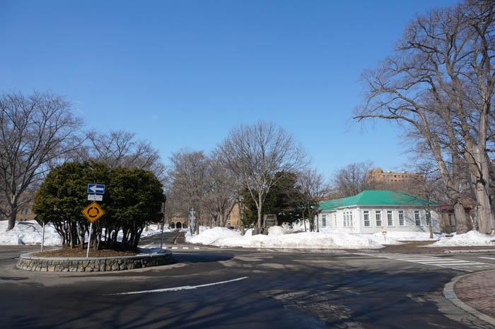 北海道大学ラウンドアバウト