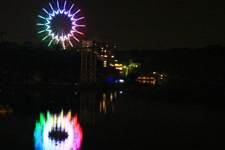 浜名湖夜景
