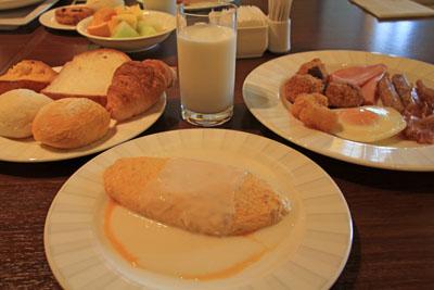 グランドニッコー淡路コッコラーレの朝食