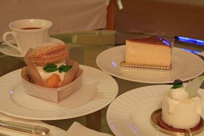 グランドニッコー淡路コパータのケーキ