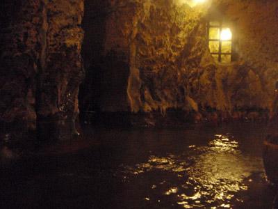 新明館洞窟風呂