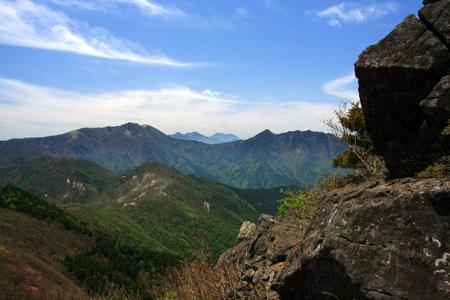 西赤石山登山