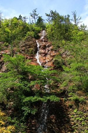 別子銅山の滝